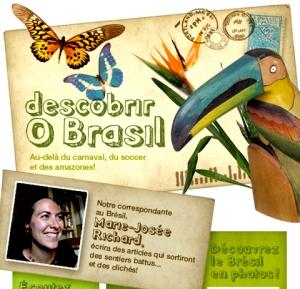 Descobrir o Brasil: rendez-vous au www.sciencepresse.qc.ca/bresil/